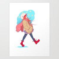 Carefree Art Print