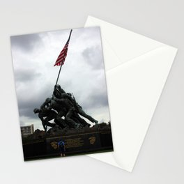 Marine Corps War Memorial Stationery Cards