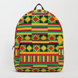 Kente pattern Backpack