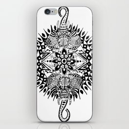 Elephant Mandala iPhone Skin