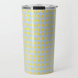 Catch the Half Lemon (Pattern Version) Travel Mug