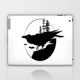 Raven Silhouette II Laptop & iPad Skin