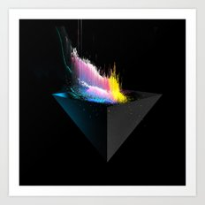 Frequency Art Print