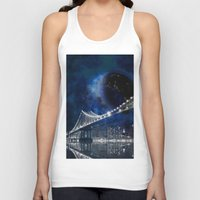 new york city Tank Tops featuring New!! New York City by Simone Gatterwe