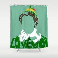 elf Shower Curtains featuring elf by pokegirl93