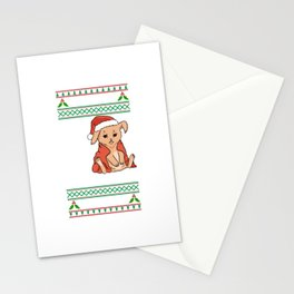 This Is My It´s Too Hot For Ugly Christmas Motive Stationery Cards
