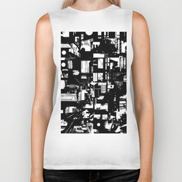For A Minute There I Lost Myself Biker Tank