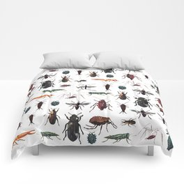 Color Insects Pattern Comforters