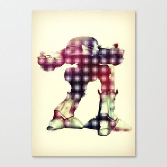 Rodot: ED-209 Canvas Print