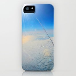 Large Endeavour's Final Voyage To Space, galaxy, world, flight, Print Poster Art iPhone Case