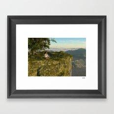 Mystic Falls Framed Art Print