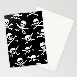 Pirateskulls Stationery Cards