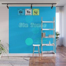 Gin Tonic Wall Mural