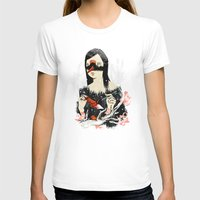 crane T-shirts featuring The Crane Wife by Picomodi