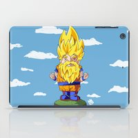 gnome iPad Cases featuring Gnome Sayan by Nate Galbraith