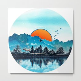 Sunrise LP Metal Print