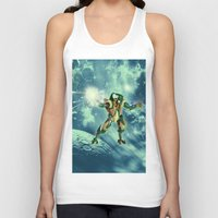robot Tank Tops featuring Robot  by nicky2342