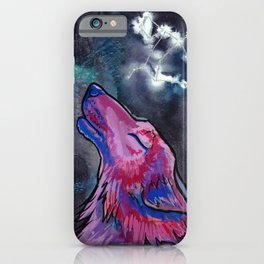 Constellation Canis Major iPhone Case