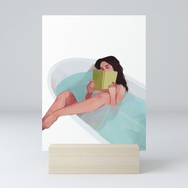 Bathtub Mini Art Print
