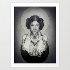 Star Wars Princess Leia Art Print