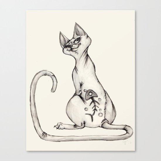 Cats with Tats v.1 Canvas Print