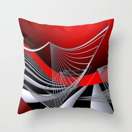 experiments on geometry -11- Throw Pillow