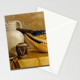 Mandolin At Rest Stationery Cards