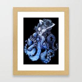 Deep Queen Framed Art Print