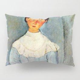 "Amedeo Modigliani ""Little girl in blue"" Pillow Sham"