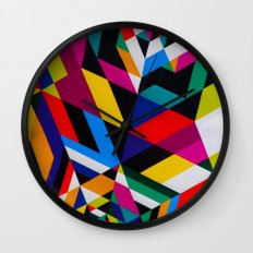 Colors and Design Wall Clock