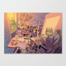 Sun Moth Canvas Print