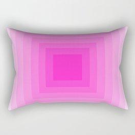 Fuschia Monochrome Rectangular Pillow