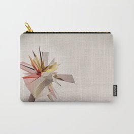 Mondrian Rearranged 3D Carry-All Pouch