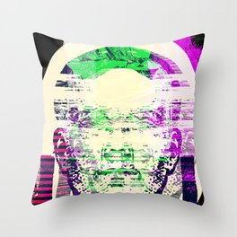 Mistaken Courtship Throw Pillow