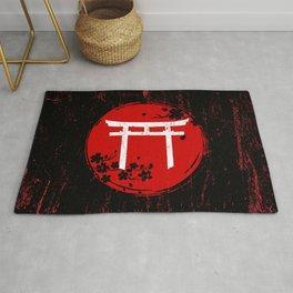 Japanese Torii Gate Rug