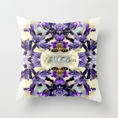 Life Of Bees  Throw Pillow
