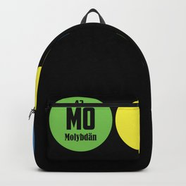 Moin periodic table anchor port sea Backpack