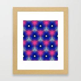 Star system Framed Art Print