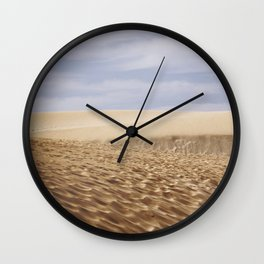 Dramatic Sand Dunes Wall Clock
