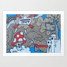 FF:Body Part III Art Print