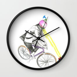 Fixie&bug Wall Clock