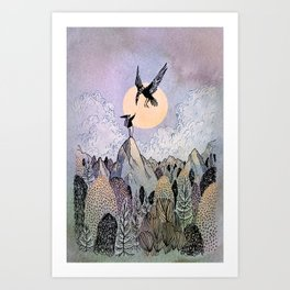 Highest Art Print