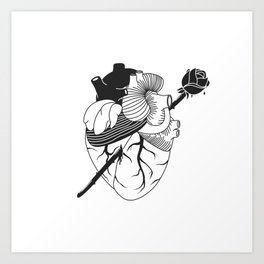 I don't need another lover Art Print