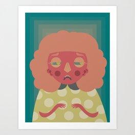 Dottie Art Print