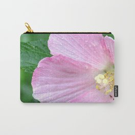 Pink Flower I Carry-All Pouch