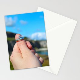 Claddagh Ring in Ireland Stationery Cards