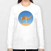 camel Long Sleeve T-shirts featuring Camel by Chantal Seigneurgens