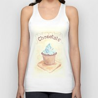 chocolate Tank Tops featuring Chocolate by YeesArts