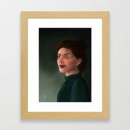 Audrey Rose Portrait Framed Art Print