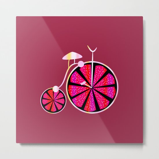 Fruity ride Metal Print